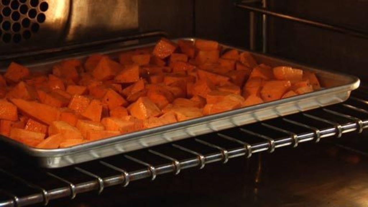 Baking the Yams