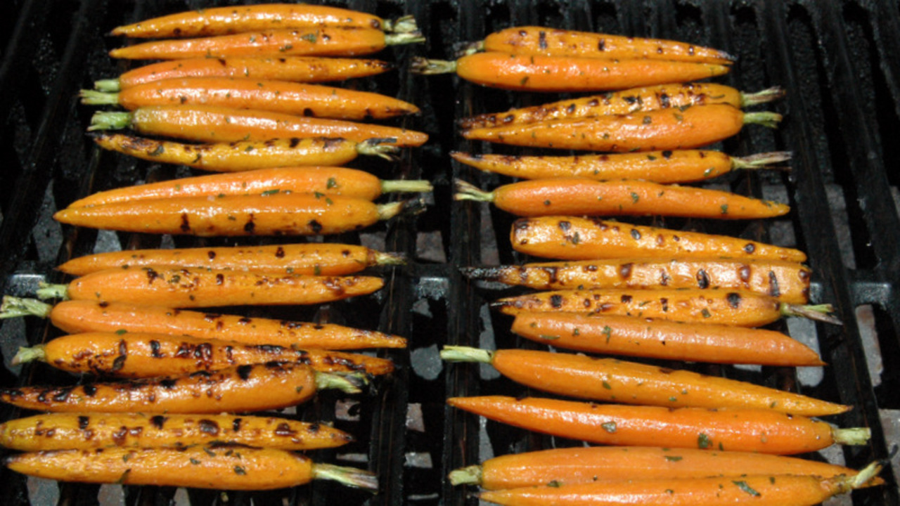 Grilling the Carrots