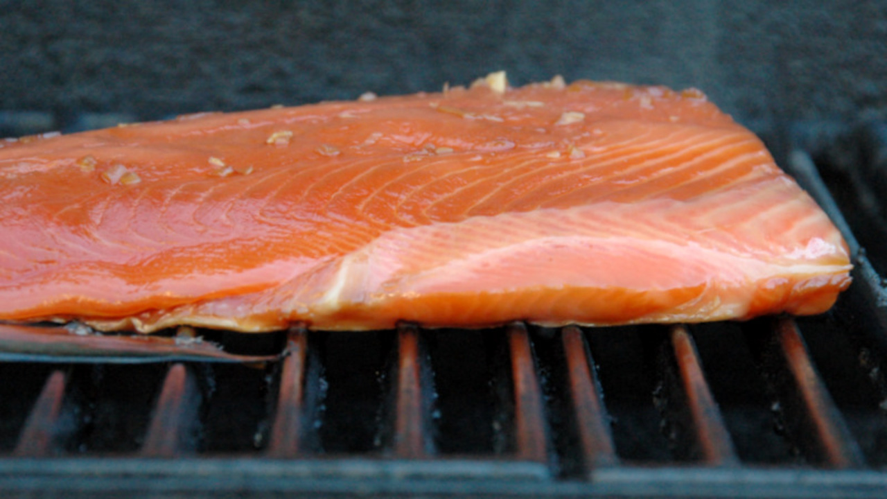 Cooking the Salmon