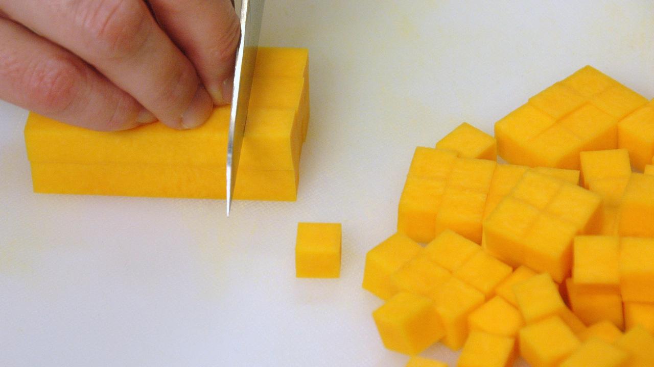 Roasting the Butternut Squash