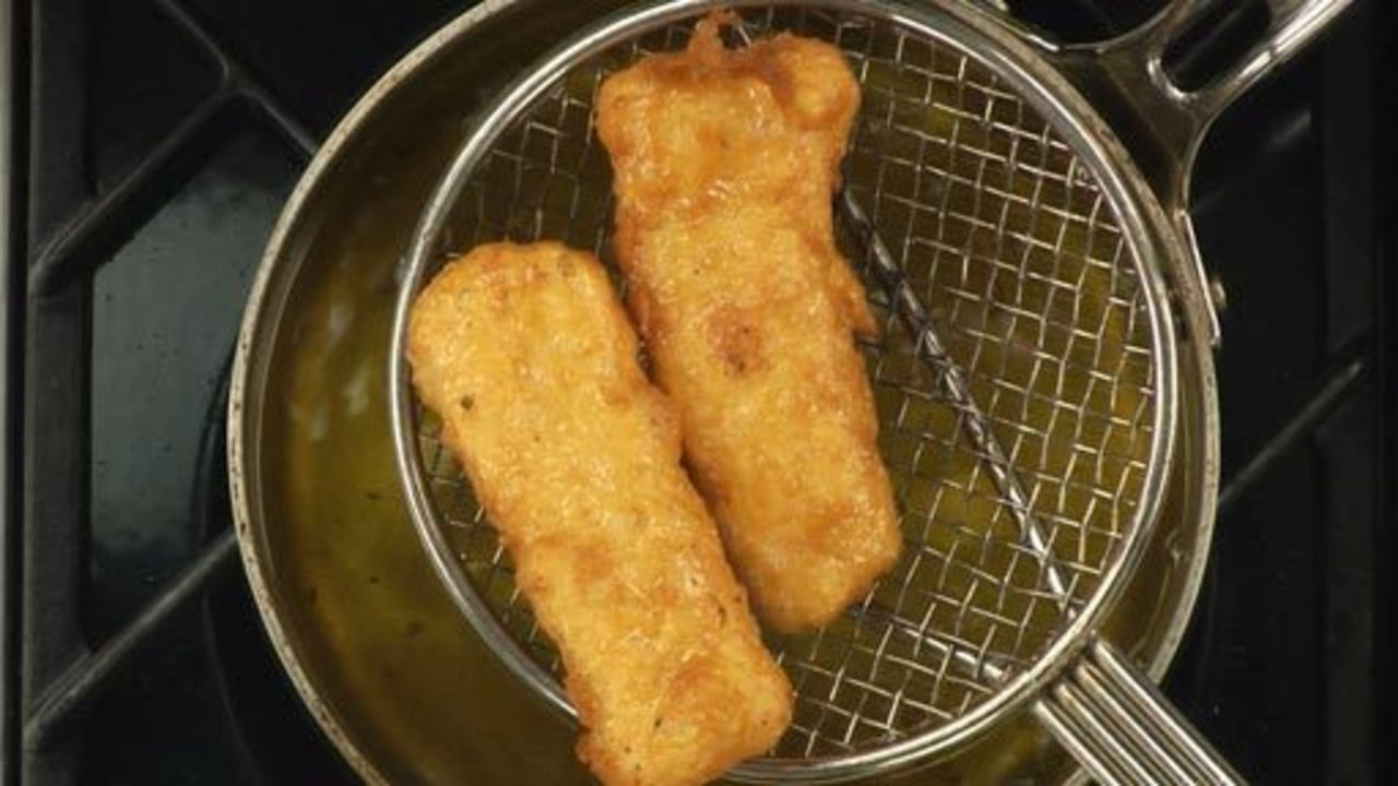 Frying the Fish and Assembling
