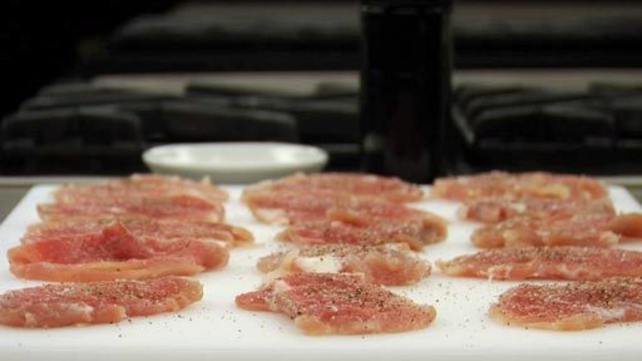 Preparing the Pork