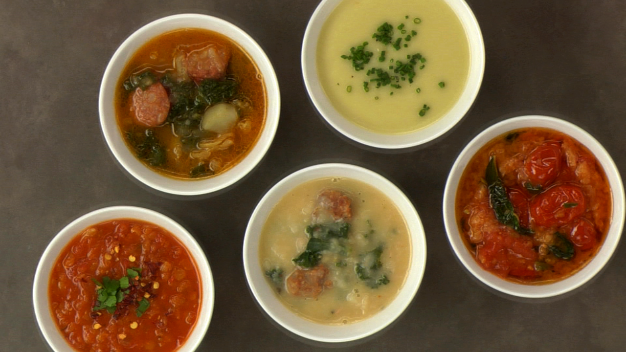 How to Make Starch-Based Thick Soup